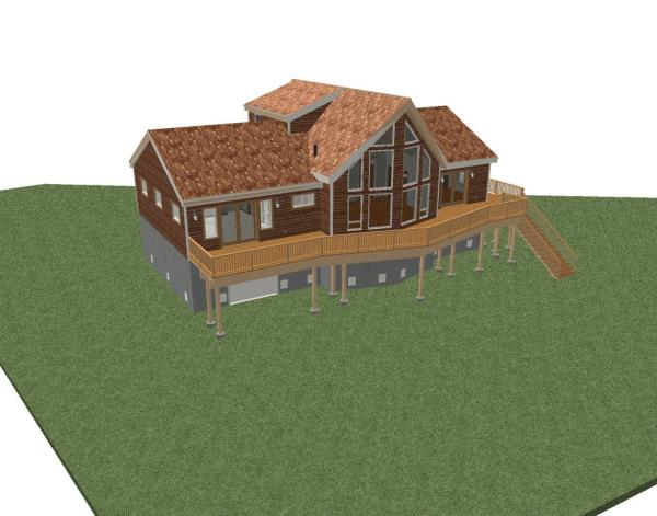 Automatic & Manual Creation of Roof in Chief Architect